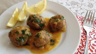 Albóndigas Marroquíes con Salsa Especiada de Limón