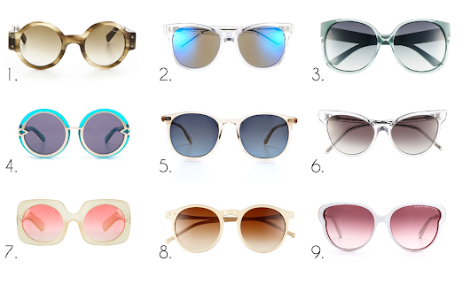 Wednesday Wish List :: Trending :: Crystal Clear Frames