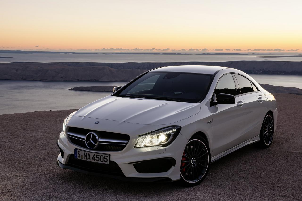 in4ride mercedes benz cla 45 amg breaks cover. Black Bedroom Furniture Sets. Home Design Ideas