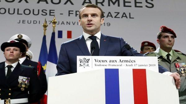 El presidente de Francia afirma que mantendrá tropas en Siria e Irak