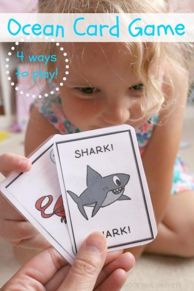 GO FISH CARD GAME PRINTABLE