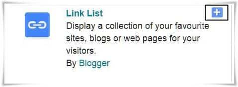 Link list per click kare