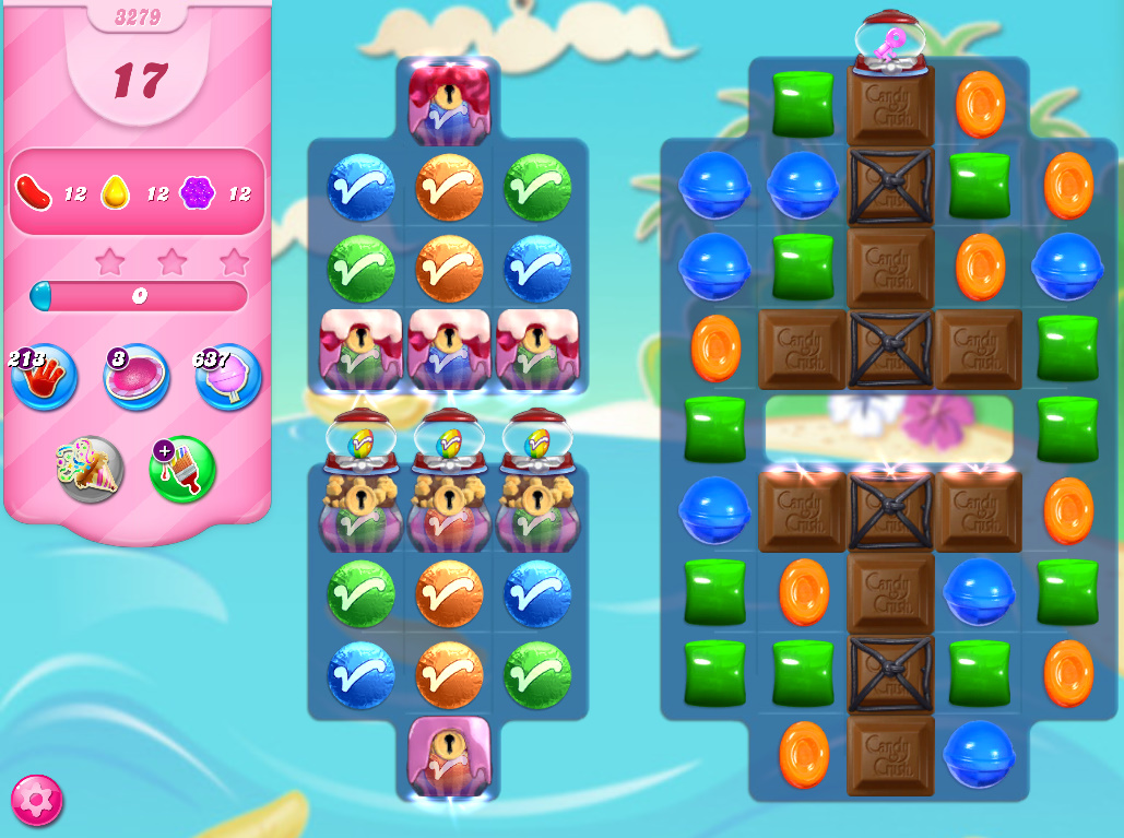Candy Crush Saga level 3279