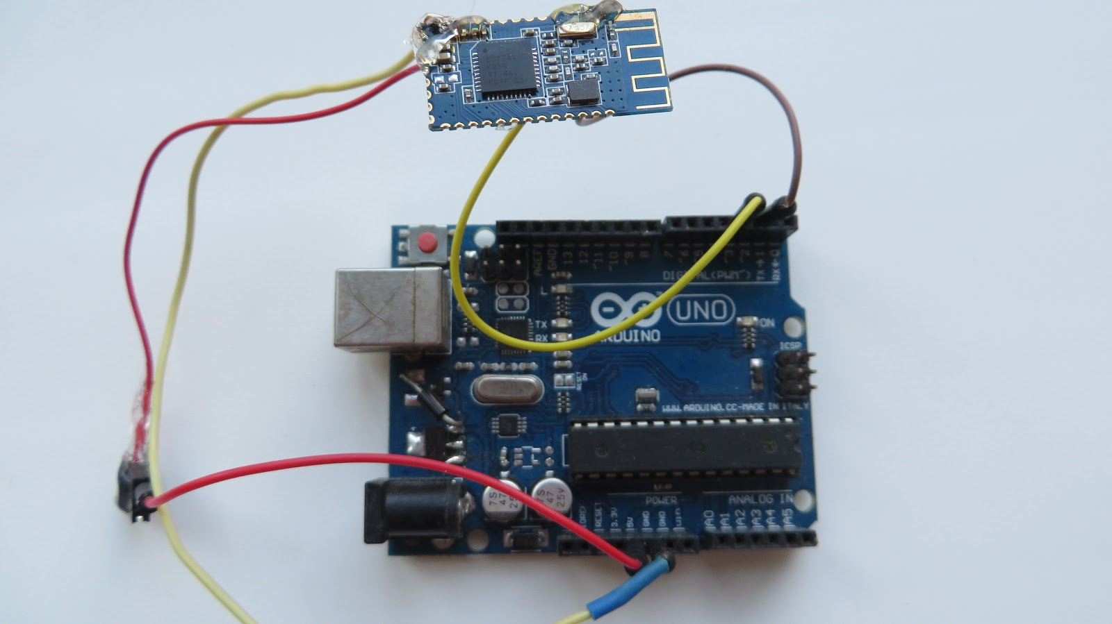 Uart Bridge With Hm 10 Communication Between Microcontroller And How To Establish A Pc Micro Controller Usart 33v Converted Uno