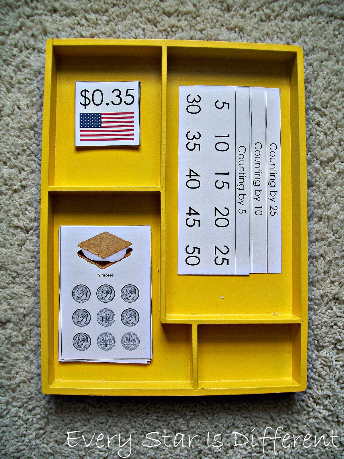 All American Treats for Sale! Money Activity for Kids (Free Printable)