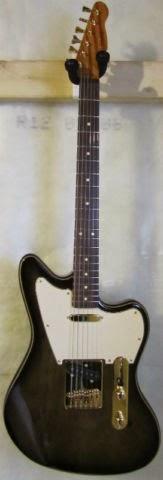 Guitar Blog: Warmoth Telemaster in stunning Blackburst Finish