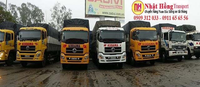 Chành xe nhận vận chuyển hàng đi Thanh Hóa giá rẻ từ Hồ Chí Minh