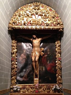 Altar de Santo Cristo, Ansó