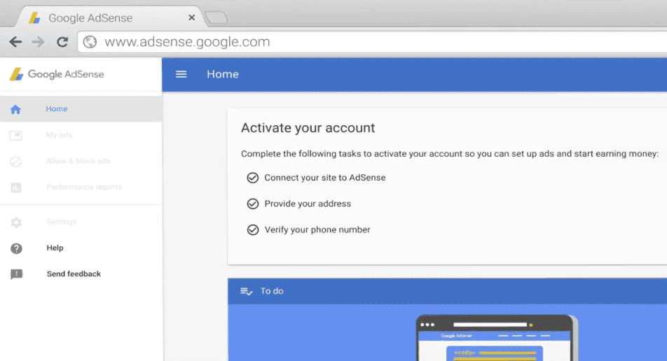 Cara daftar adsense blogger,agar blog cepat diterima google adsense
