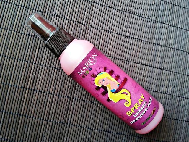 Marion Kids - Multiwitaminowy spray ułatwiający rozczesywanie włosów, opakowanie