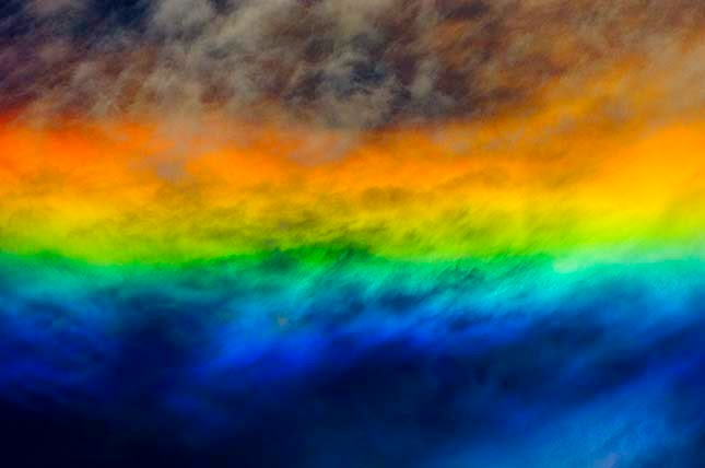 Tűzszivárvány – ritka égi jelenség