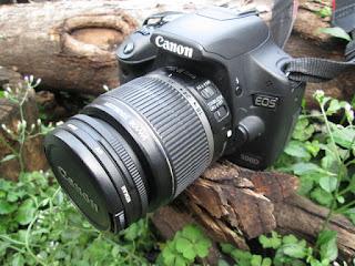 Kamera DSLR Canon EOS 500D Bekas Mulus Jarang Pake