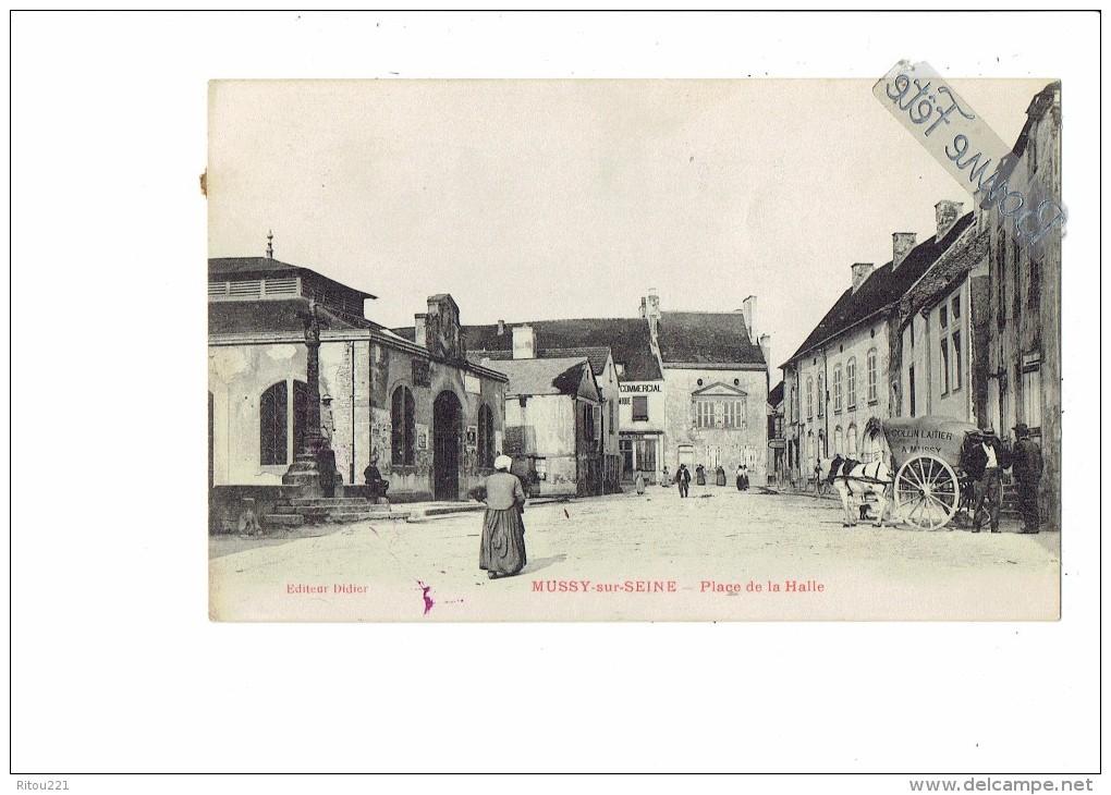 place de la halle, Mussy sur seine