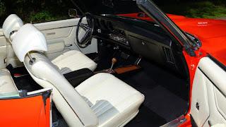 1969 Pontiac LeMans GTO Ram Air IV Convertible Interior Cabin