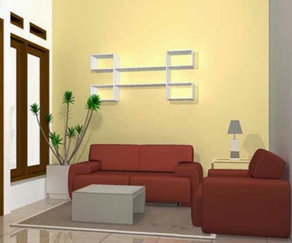 Desain Ruang Tamu Sederhana Gambar Rumah Idaman