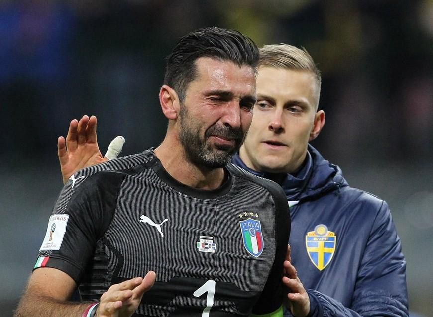 Buffon è carico verso Italia-Svezia: