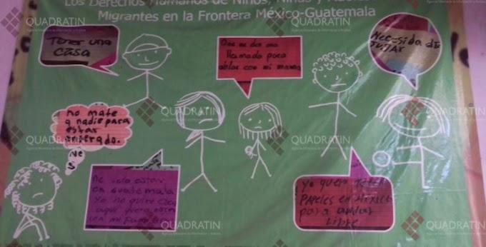 Aumenta número de niños detenidos en estación migratoria de Chiapas