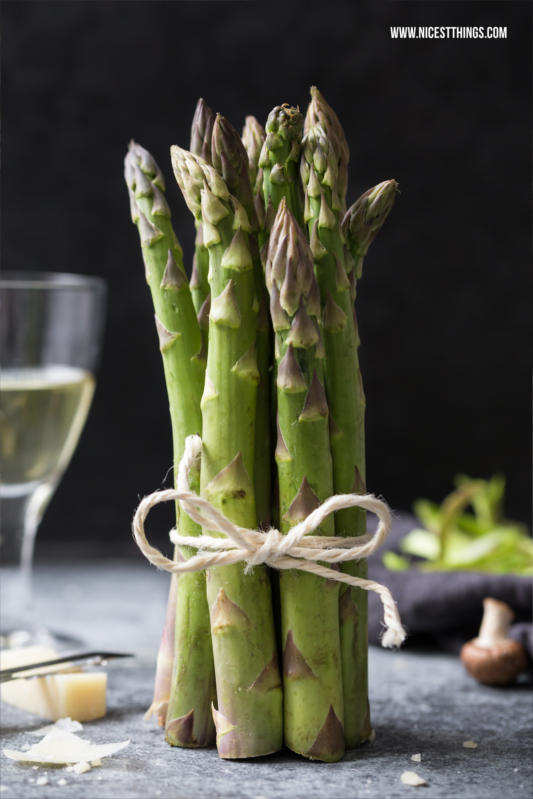 Grüner Spargel Asparagus Food Photography