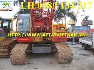 cẩu bánh xích 65 tấn CCH650