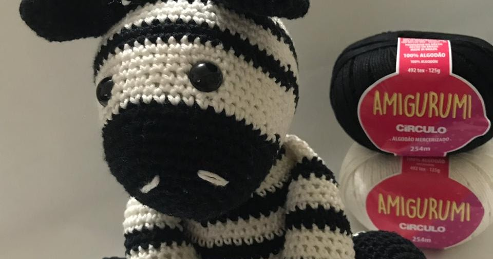 Amigurumi Zebra Free Pattern | Zebra de crochê, Cavalo de crochê ... | 504x960