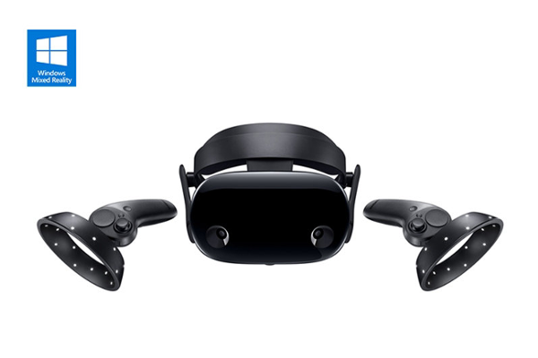 SAMSUNG HMD Odyssey+ Windows Mixed Reality (MR) headset unveiled with Anti-Screen Door Effect (Anti-SDE) technology