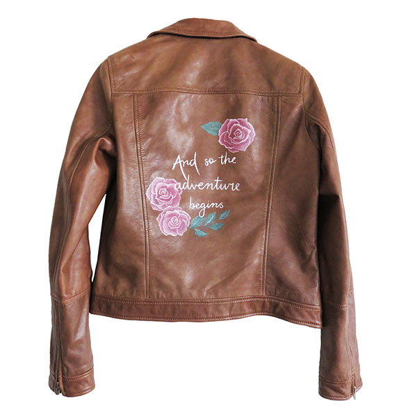 LEATHER ART PERSONALISED JACKETS BRIDAL ACCESSORIES