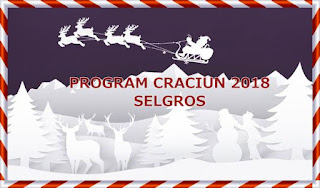 program selgros 23, 24 31 decembrie 2018 2, 3 ianuarie 2019