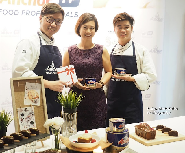 Ms Linda Tan & Her Creative Anchor Food Professionals Pastry Chefs