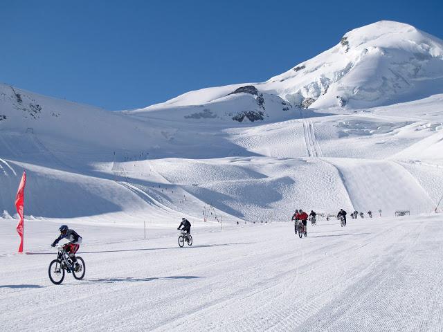 16th Glacier Bike Downhill Race in Saas-Fee