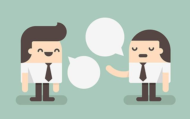 Berbicara dengan Orang Lain