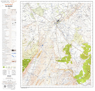 Carte Topographique AL-HAJEB 2000 Morocco 50000 (50k) Topographic map free download