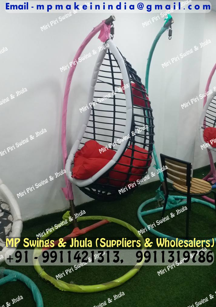 Swing Chair Stand India Office Back Support Mesh Wicker Indoor Hanging With Outdoor Chairs Egg