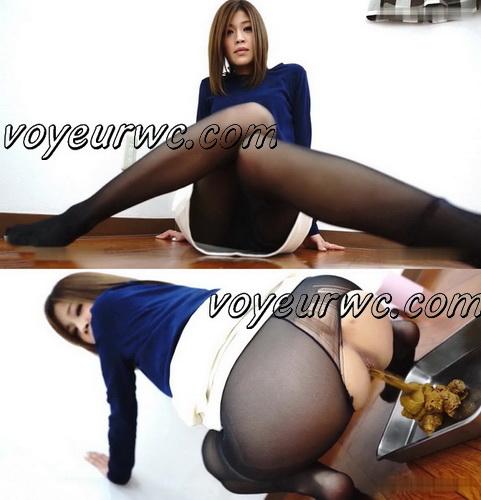 [JG-251] Glamourous girls pooping. Girls in sexy pantyhose pooping