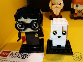 LEGO 2018 Sets Harry Potter Brick Headz