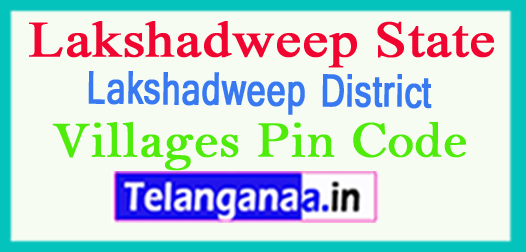 Lakshadweep District Pin Codes in Lakshadweep State