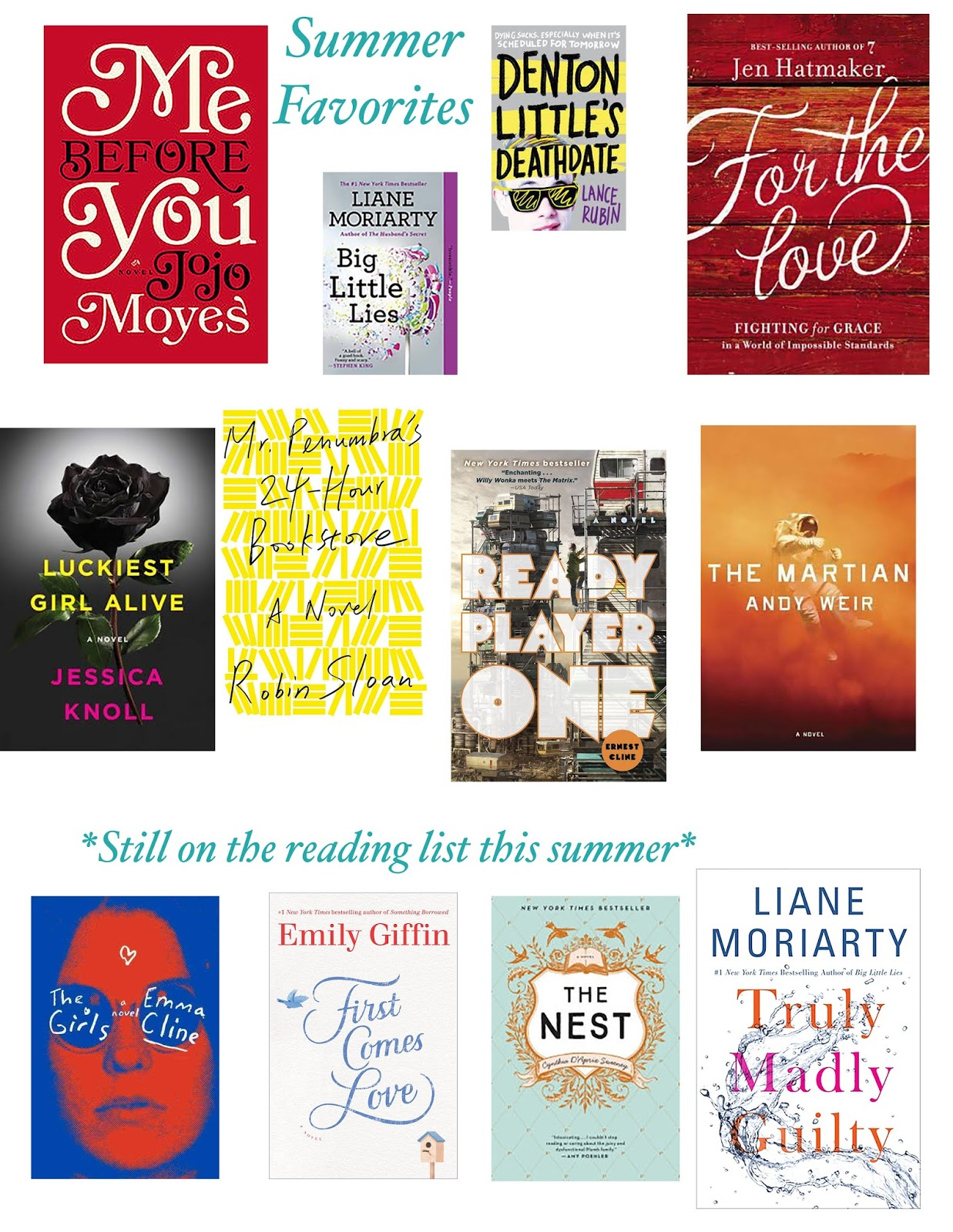 Summer reading list daily brunch