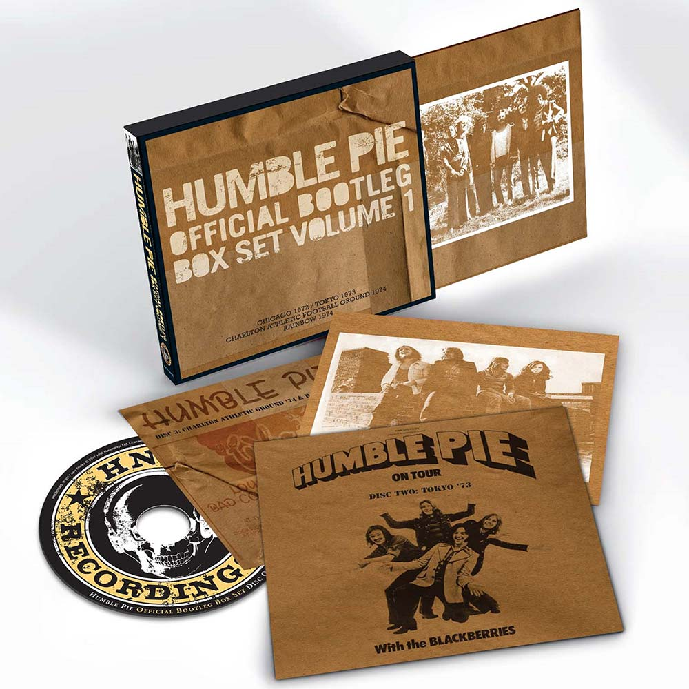 "It's Psychedelic Baby Magazine: Humble Pie - ""Official Bootleg Box"