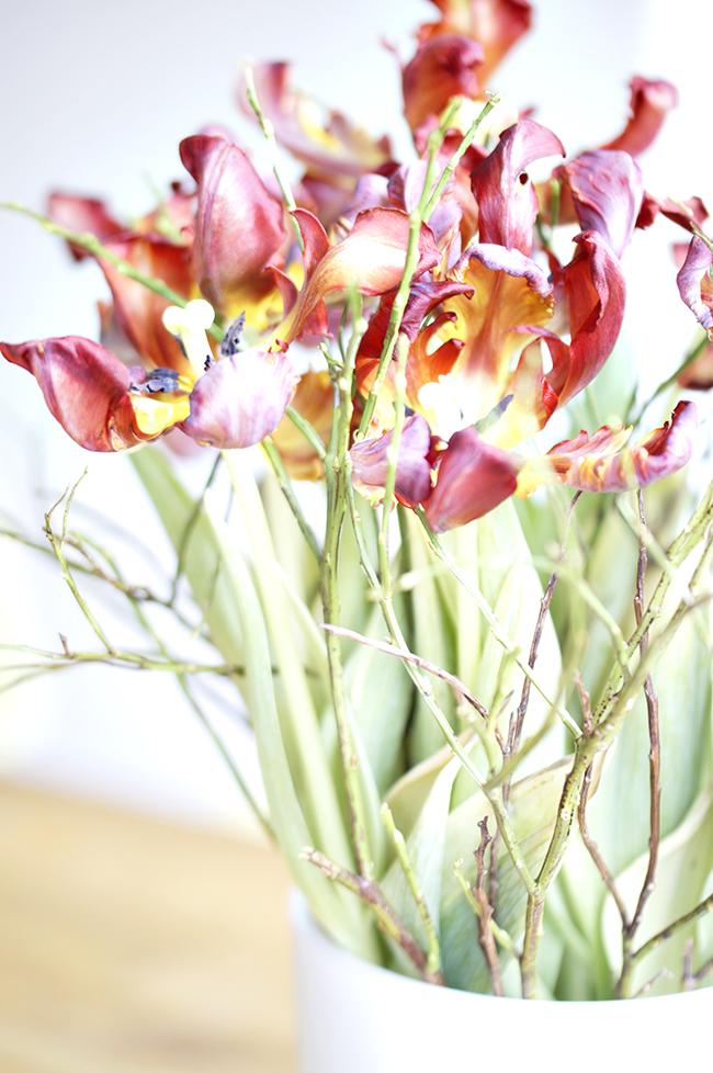 Ynas Design Blog | Tuplenstrauß in der Vase