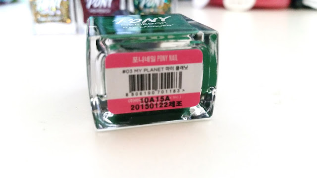 manufacturing date and polish name