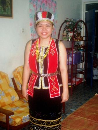A Bidayuh Take My Bidayuh Costume