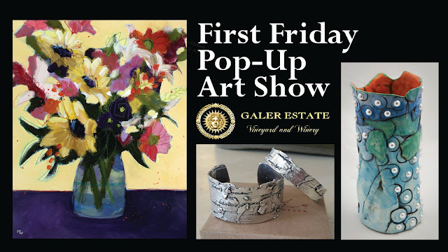 Pop Up Art Show at Galer Estate