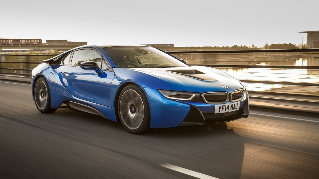 Bmw I8 Electric Blue Wallpaper For Dekstop Car Wallpaper Hd