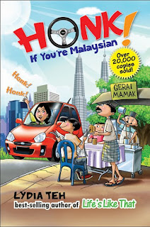 "New cover for ""Honk! If You're Malaysian"""