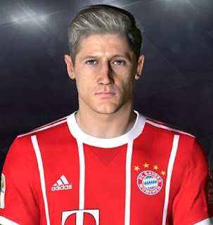 PES 2017 Faces Robert Lewandowski v2 by Facemaker Ahmed El Shenawy