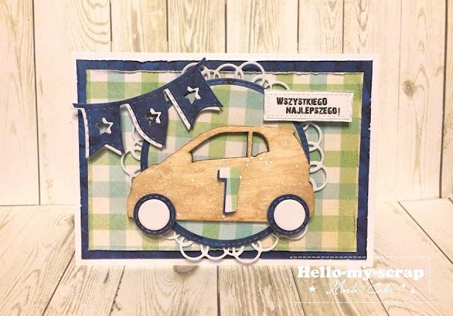urodzinowa karteczka Marty z dekorem z EKO-DECO