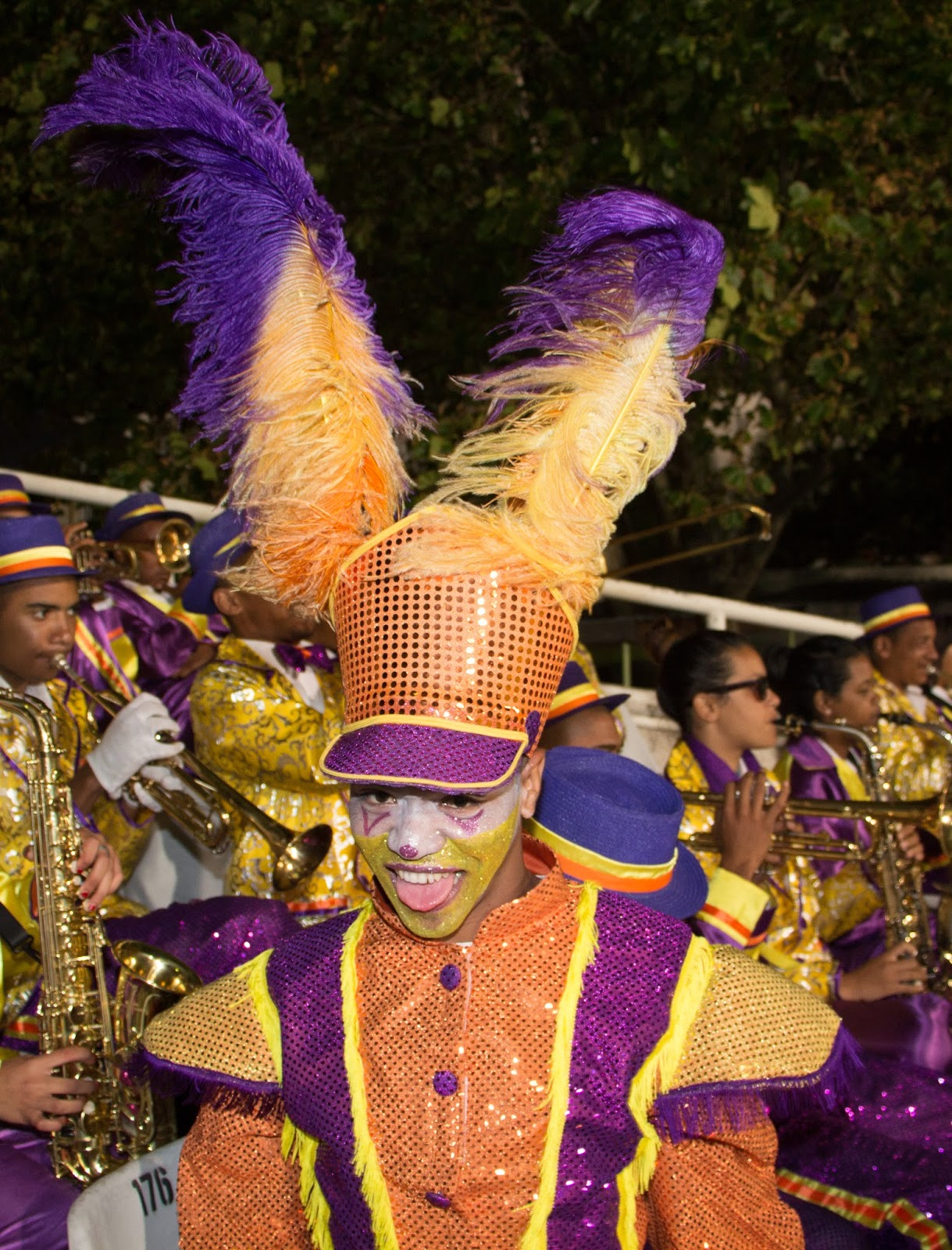 Cape Minstrels at Festival of Cricket Newlands with Canon 700D