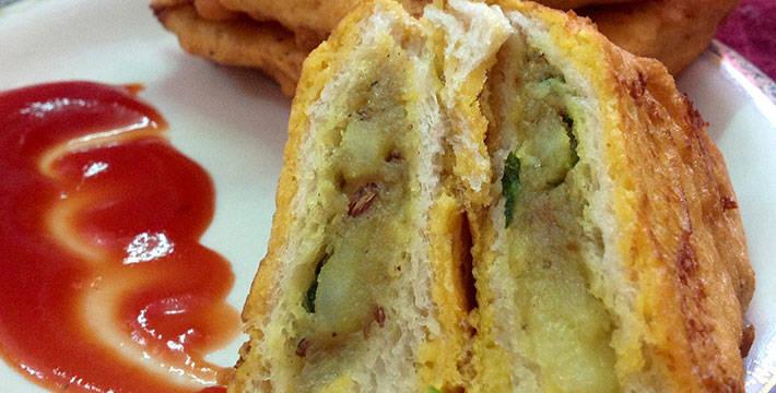 ब्रेड पकोडा - पाककला | Bread Pakoda - Recipe
