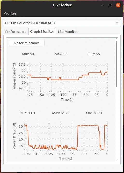 TuxClocker, overclock de GPUs no Linux - Diolinux - O modo
