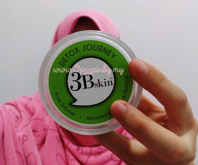 3Bskin - Detox Journey (Green Detox Mask)