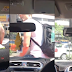 Foreign man was caught on cam stopping grab car by sitting on the hood after driver cancels his booking for being late